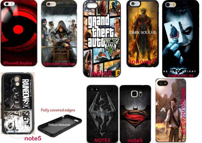 PS4 games mobile covers starting 8$