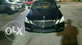 Mercedes E350 luxury package full options 2010 Amg ajnabieh low mileag