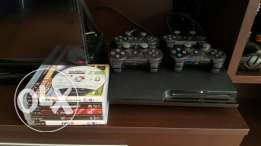 PS3, 4 joy,8 games(watchdog, fifa 17,16,15 arab; WWE,tenis, raly, gta5