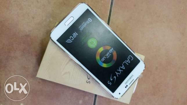 galaxy s5 new not used