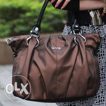 OPPO brand brownish shoulder handbag (Free delivery)