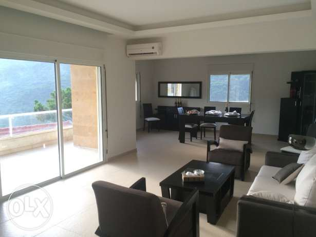 New apartment for sale in baabdat, lebanon 230m2, Panoramic View