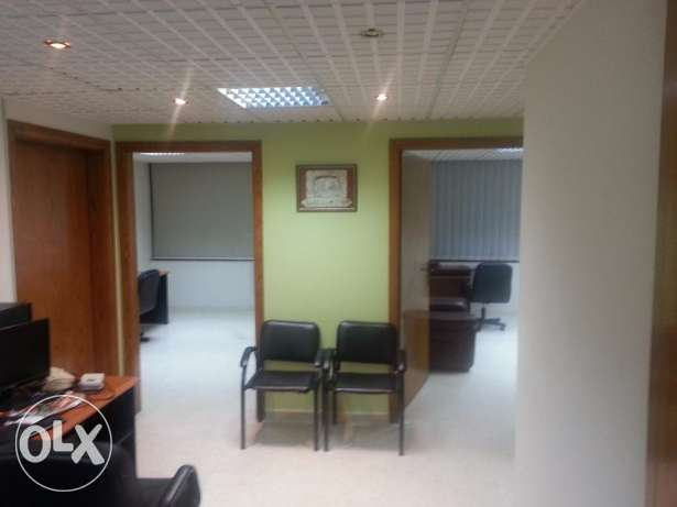 Office for rent 120 Meters at Sami Solh Blvd Overlooking Tayouneh