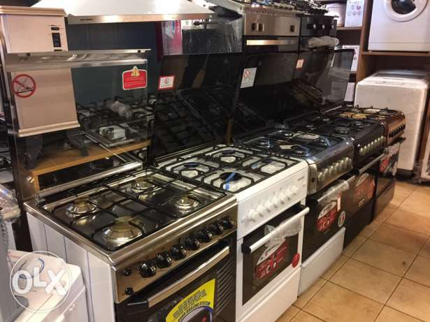 gas oven 4 eyes with 1 year warranty