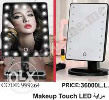 مراية makeup touch LED