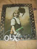 photo frame metal forge family size 20 x 25 cms