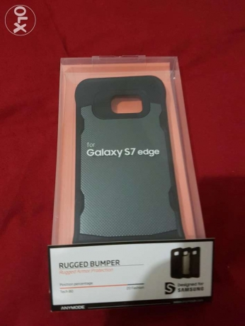 S7 edge Cover - Rugged Bumper (NEW)