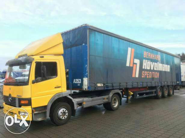 Trailer schmitz Germany Mercedes-Benz
