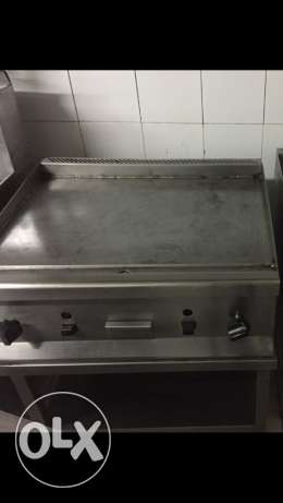 Grill with stainless stand