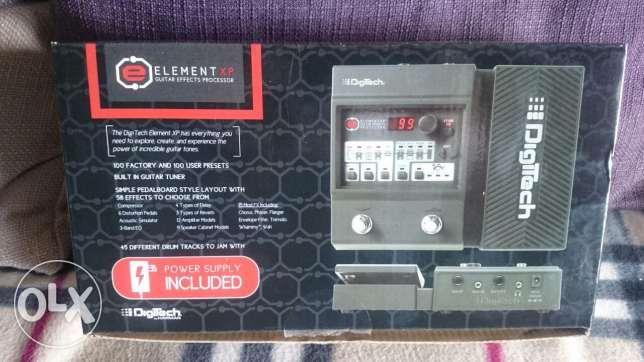Digitech Element XP Usa multi effects guitar pedal new in box