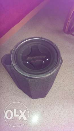 Sub woofer with wooden box, very good quality
