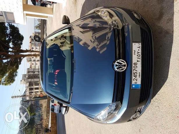 Golf 6 gl model 2011 blue-gray