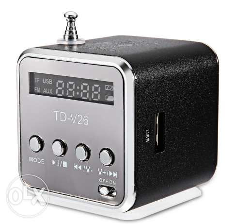 Portable Digital LCD Sound Speaker Music Player