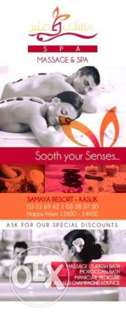 female spa manager needed for a spa in kaslik