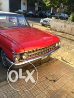 ford calaxiy classic car red all orignal pieces nice 1967 all workinn