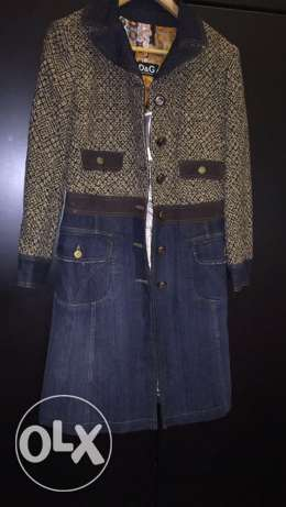 Original D&G coat unused