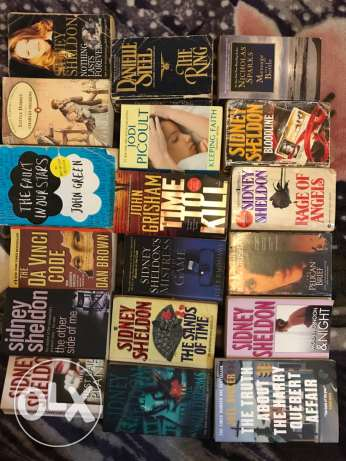 book collection novels