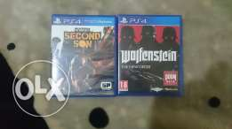 Infamous second son like new wa wolfenstein the new order like new