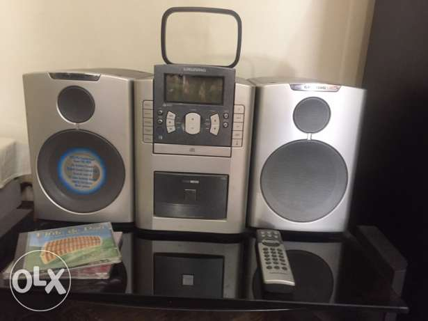 Grundig CD and Cassette player and radio