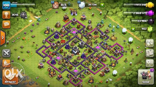 clash village for sell
