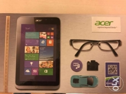 acer W4 iconia tablet high specs /windows 10 like new