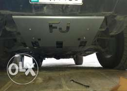 FJ skid plate cover