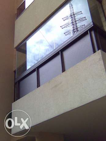 balcony glass curtains حدث -  8