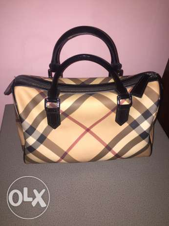 Burberry nova check speedy handbag
