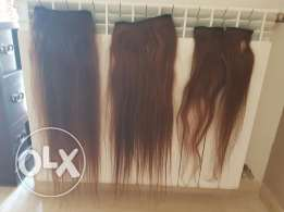 Hair extension 100% natural