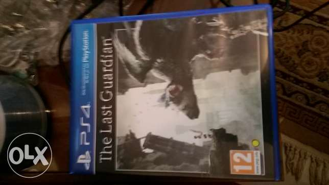 Ps4 game last guardian