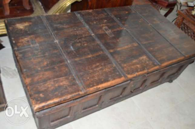 solid wood table box