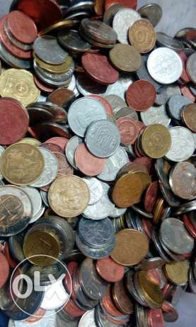1,000 pieces of Old coins from all the world
