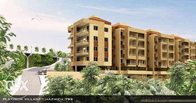 155 m2 apartment with 2 terrace 50 m2 for rent in hazmieh
