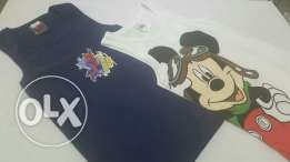 100% cotton disney shirts