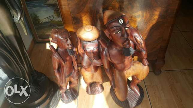 Wood huge items affrican