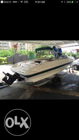 2001 bayliner with trailer. fresh water boat.