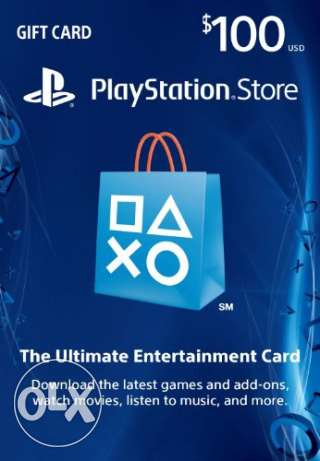 PlayStation Network (PSN) $ Cards