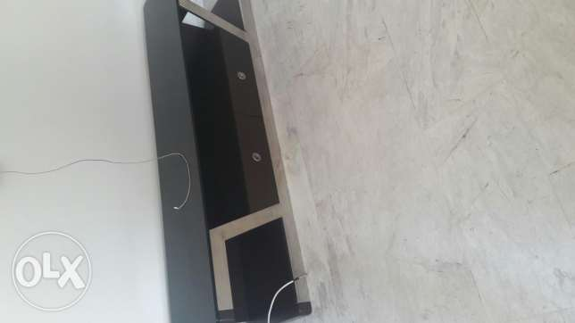Tv board in dark brown