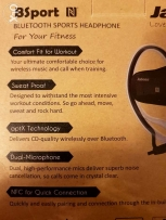 Wireless Bluetooth Headset for Workouts