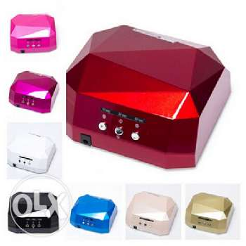 36W LED+UV light curing & drying nail gel & Shellac lamp-Free delivery