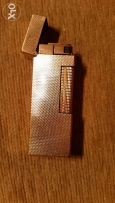 Gold plate Dunhill lighter usd cood condition