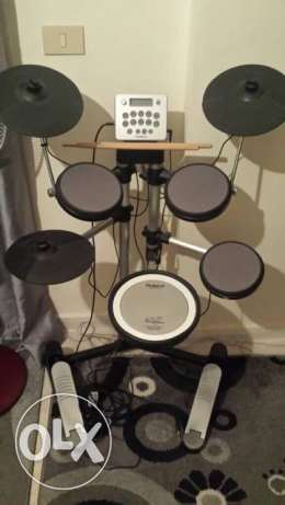 Roland HD-3 electronic drums