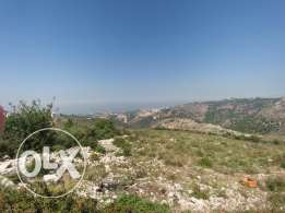 Land for sale in mount lebanon gherfine at a very attractive price