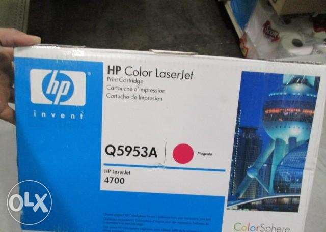HP (Q5953A) Original LaserJet Toner Cartridge المرفأ -  1