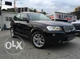 BMW X3 2011 Black Top of the Line in Showroom Condition!