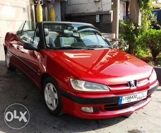 Collection Car Peugeot 306 Convertible 1996 Full Option!!