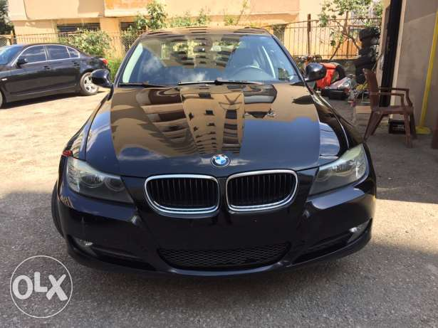 bmw 328i 2009 black/black clean carfax