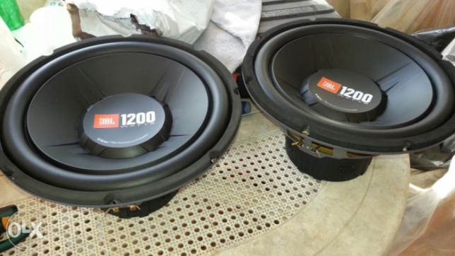 JBL subwoofer 1200 watts $45