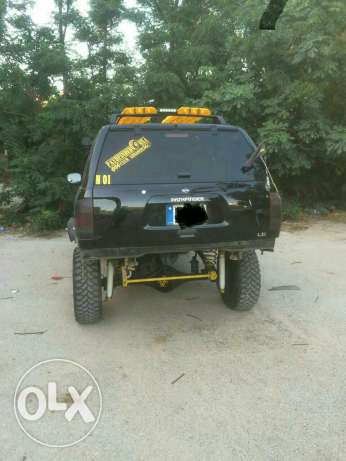 Nissan pathfinder fully modified