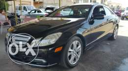 Mercedes E350 model 2010 black + coupe